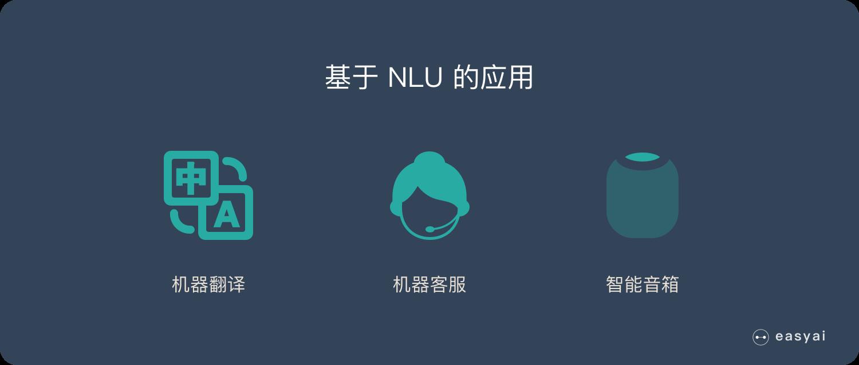 基于自然语言理解-NLU的应用
