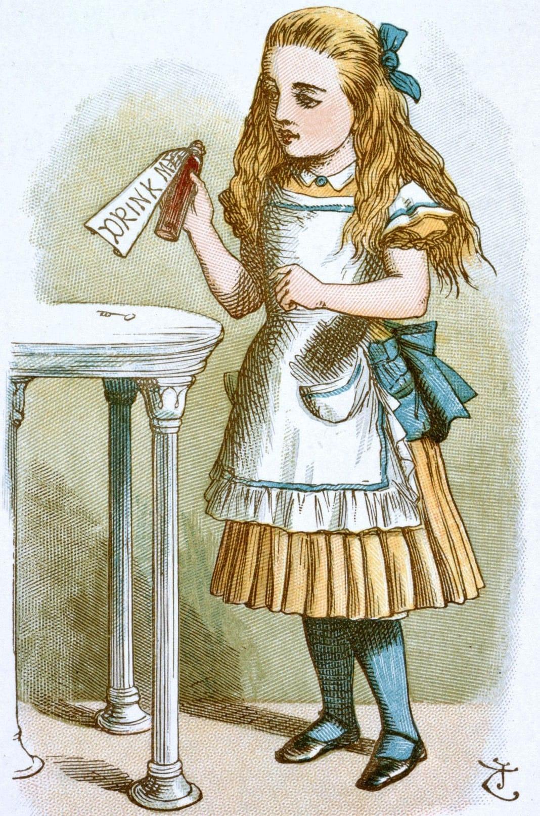爱丽丝梦游仙境》的作者刘易斯·卡罗尔(Lewis Carroll)也是一位数学家。他发明了许多诱人的产品,尽管其中一些并没有按预期工作。所有插图均由John Tenniel提供。