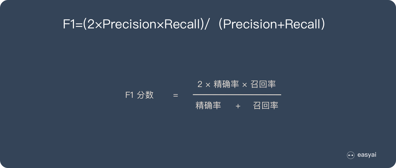 F1分数计算公式